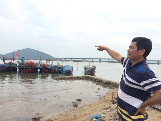 Ông Lại Thế Sơn vẫn ước mơ có thể đóng một chiếc tàu cá vỏ thép để vươn khơi xa hơn