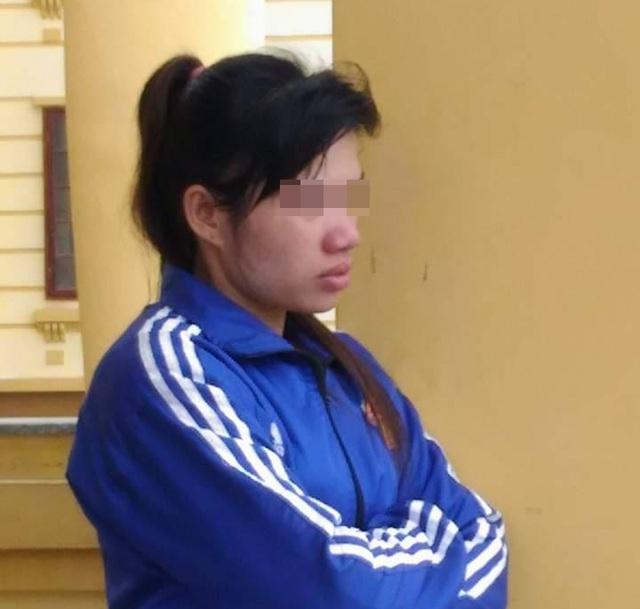 Lô Thị Luân tại Tòa án nhân dân tỉnh Nghệ An sáng nay