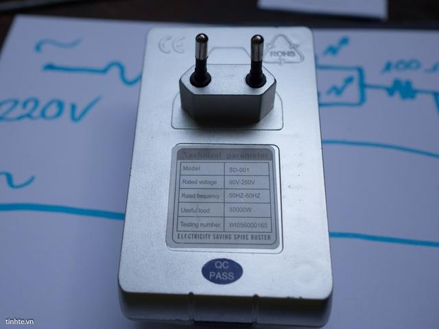 Loại thiết bị được quảng cáo là giúp tiết kiệm điện một cách thần kỳ