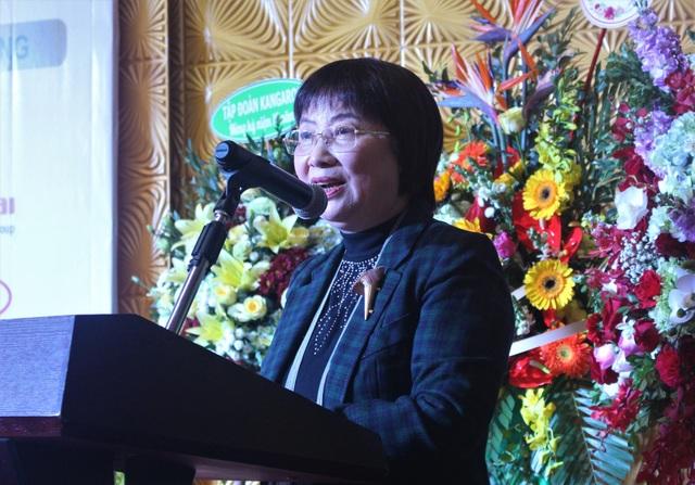 Bà Đinh Thị Mỹ Loan, Chủ tịch Hiệp hội các nhà bán lẻ Việt Nam cho rằng ngành bán lẻ là một trong những ngành thu hút dòng vốn mua bán - sáp nhập (M&A) nhất tại thị trường Việt Nam. (Ảnh: Hồng Vân)