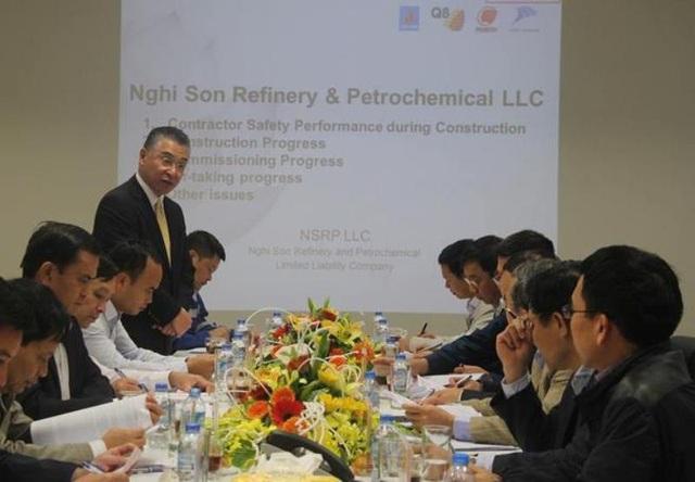Theo báo cáo của Công ty, tính đến ngày 24/10, nhà máy Lọc hóa dầu Nghi Sơn đã vận hành thử nghiệm đạt 37%