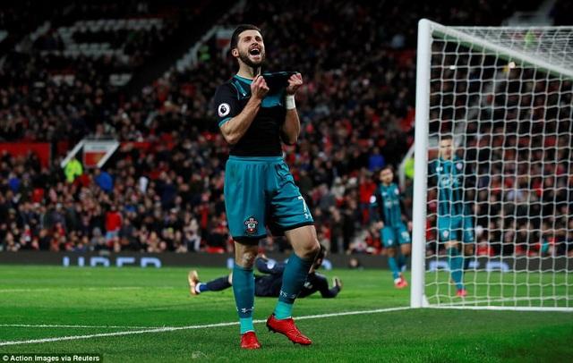 Tiền đạo S.Long của Southampton tiếc nuối khi bỏ lỡ cơ hội ghi bàn cho đội khách