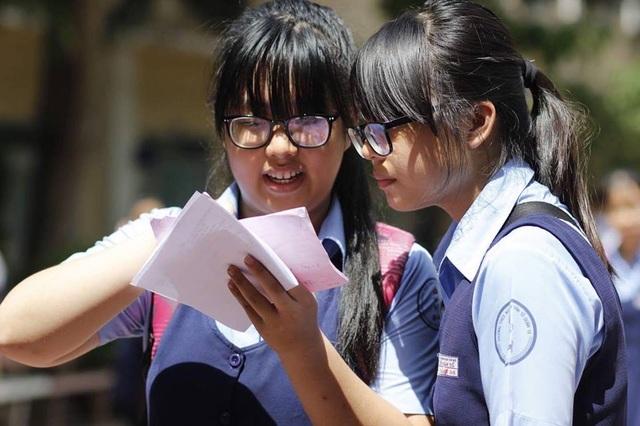 Tỷ lệ chọi vào lớp 10 tại nhiều trường THPT ở TPHCM tăng mạnh làm học sinh lo lắng (ảnh minh họa)