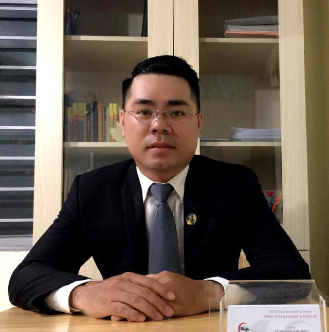 Luật sư Võ Thanh Khương (Đoàn Luật sư TP.HCM).