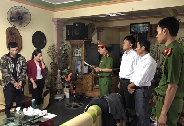 Cơ quan Công an thi hành lệnh bắt khẩn cấp và khám xét nơi ở của Lê Quang Tuấn