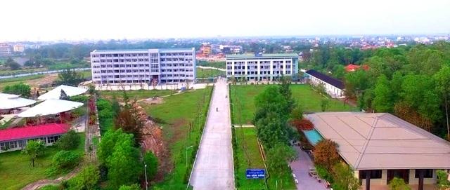 Khuôn viên trường Đại học Luật - Đại học Huế