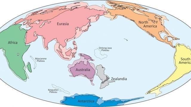 Lục địa thứ tám của Trái Đất đã tiết lộ bí mật bị chôn vùi - 1