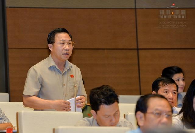 Đại biểu Lưu Bình Nhưỡng cho biết nhiều cán bộ toà án tâm tư vì người đứng đầu khối cơ quan tư pháp của mình chưa được coi trọng tương xứng.