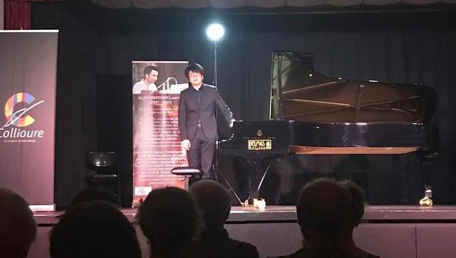 Lưu Đức Anh - Nghệ sĩ piano trẻ Việt Nam vinh dự nằm trong top 9 nghệ sĩ trẻ được ban tổ chức lựa chọn mời đến biểu diễn trong Festival và cuộc thi lần thứ 10 này.