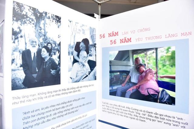 Một góc hình ảnh, bài viết và thơ giới thiệu câu chuyện tình yêu 56 năm của thầy Văn Như Cương và vợ.