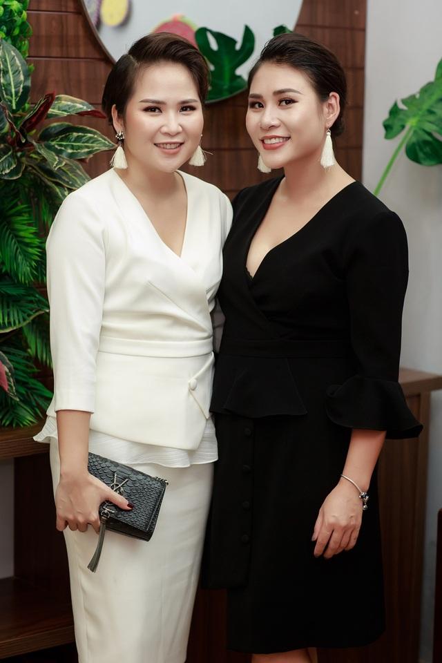 Hai nhà thiết kế Ly Eva - Hà Minh Phúc.