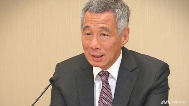 Thủ tướng Singapore Lý Hiển Long (Ảnh: Mediacorp)