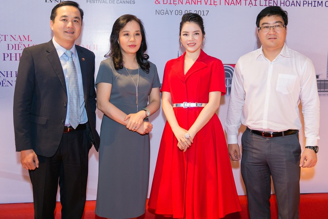 Chương trình có sự tham dự của bà Ngô Phương Lan, Cục trưởng Cục điện ảnh Việt Nam và ông Bùi Tá Hoàng Vũ, Giám đốc sở Du lịch TPHCM.