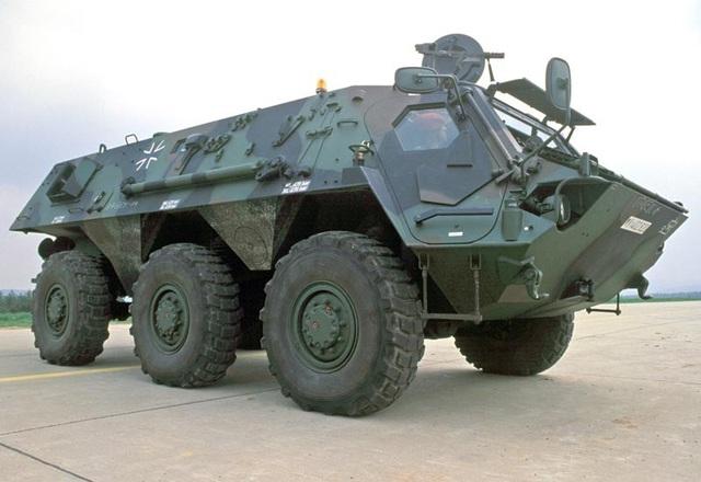 Xe trinh sát M93 NBC được sử dụng trong các cuộc tấn công hóa học. (Ảnh: MilitaryFactory)