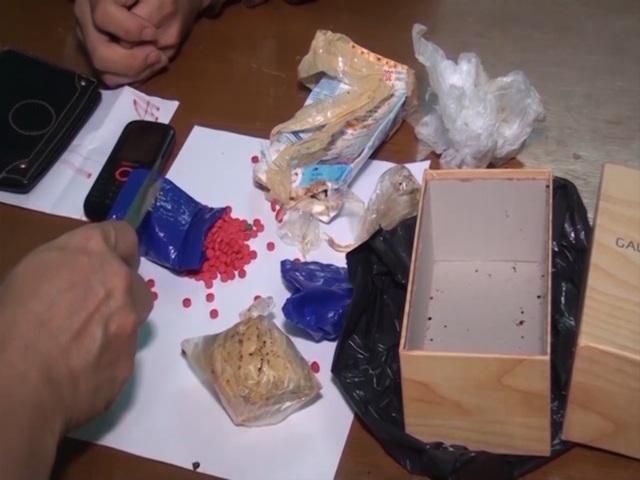 Tang vật ma túy tổng hợp được cơ quan chức năng thu giữ