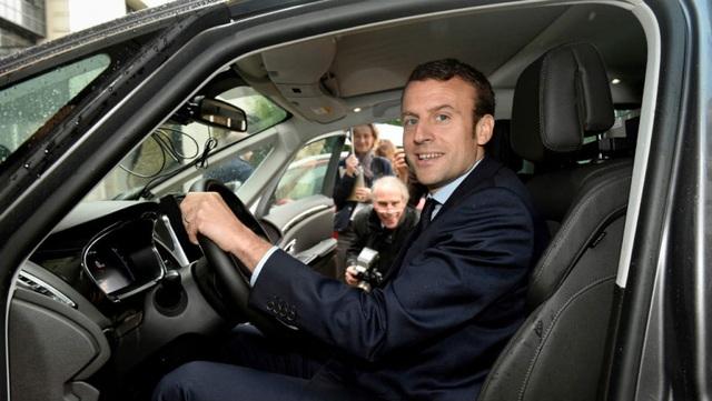 Tân tổng thống Pháp dùng xe gì trong lễ nhậm chức? - 2