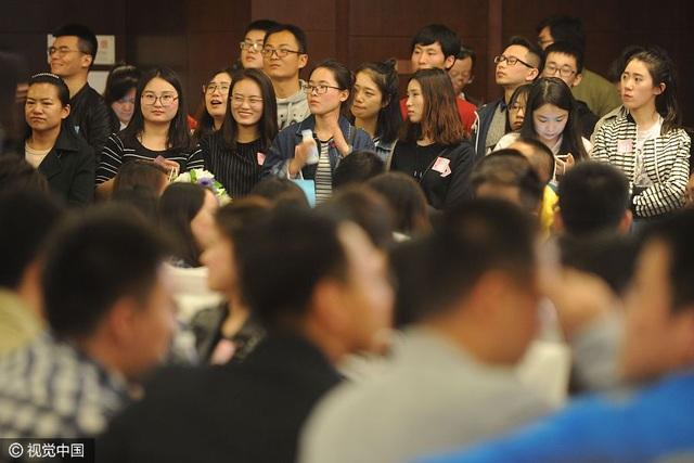 Trung Quốc: Hàng ngàn sinh viên dự sự kiện mai mối - 3