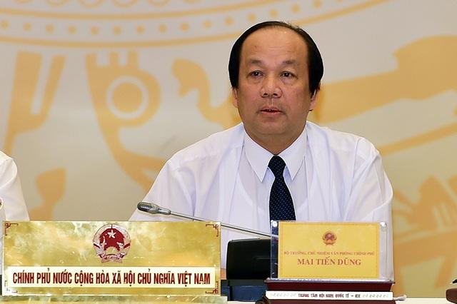 Người phát ngôn Chính phủ cho rằng, cần nhiều biện pháp để khắc phục chi phí không chính thức hành doanh nghiệp (ảnh: VGP).