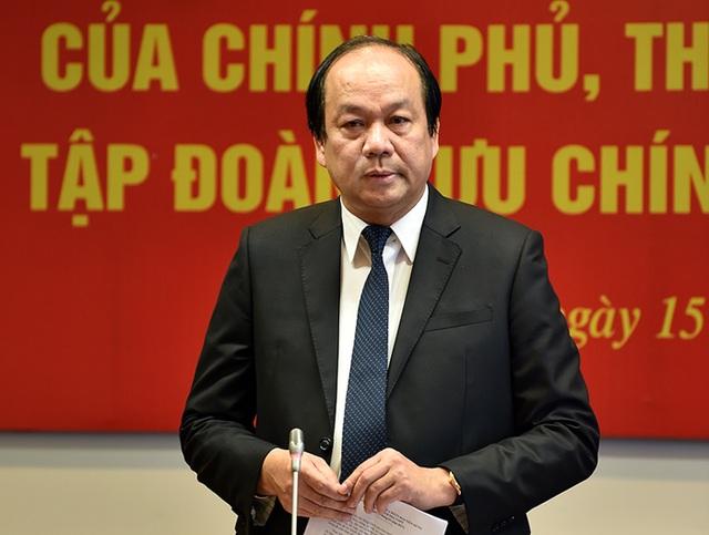 Bộ trưởng Mai Tiến Dũng - Tổ trưởng tổ công tác của Thủ tướng kiểm tra tại VNPT.