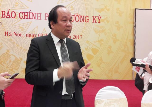Bộ trưởng Mai Tiến Dũng khẳng định áp lực đặt ra lớn nhưng Văn phòng Chính phủ vẫn quyết tâm đưa vào hoạt động kênh thông tin tương tác với người dân.