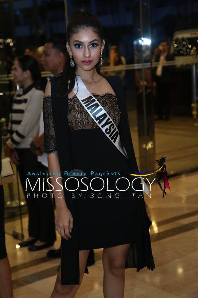Lệ Hằng và các mỹ nhân khoe sắc trong tiệc tri ân Hoa hậu hoàn vũ 2015 - 62