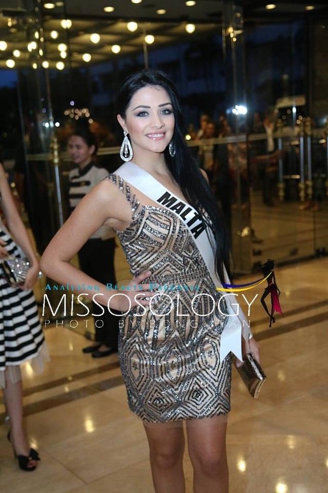 Lệ Hằng và các mỹ nhân khoe sắc trong tiệc tri ân Hoa hậu hoàn vũ 2015 - 63
