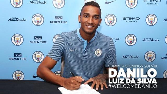 Danilo đã trở thành người của Man City