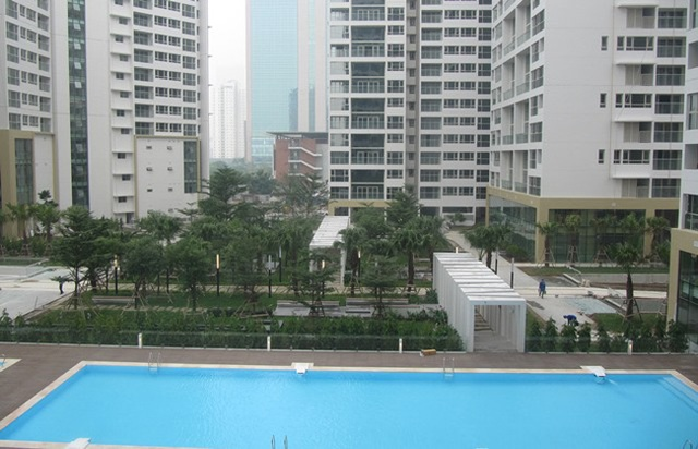 Mandarin Garden là khu chung cư cao cấp ngay trung tâm Hà Nội.