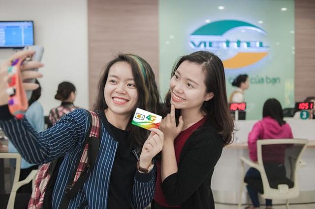 Hơn 7 triệu người đã đổi sim 4G Viettel miễn phí và 5 triệu trong số đó đã chuyển sang dùng 4G Viettel