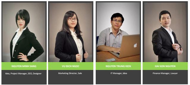 4 bạn trẻ sáng lập dự án được ví là mô hình uber cho giáo dục.