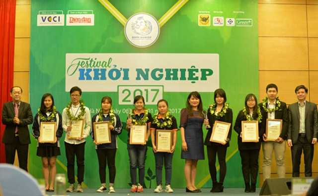 Dự án này từng lọt Top 3 cuộc thi Khởi nghiệp quốc gia do VCCI tổ chức cuối năm 2016.