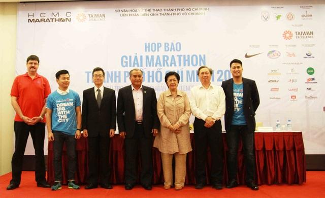 Công bố giải marathon TPHCM