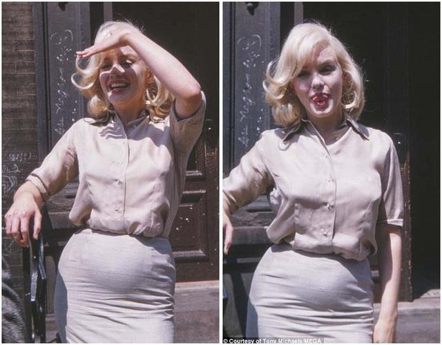 """Sốc với vòng eo khác lạ của """"biểu tượng sex"""" Marilyn Monroe - 1"""