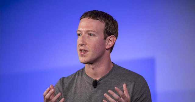 Tỷ phú Mark Zuckerberg hiện đang giàu thứ 4 thế giới. (Nguồn: Bloomberg)