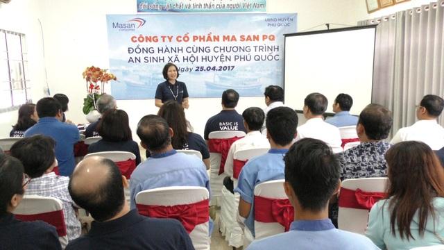Masan PQ đồng hành cùng chương trình an sinh xã hội huyện Phú Quốc - 2