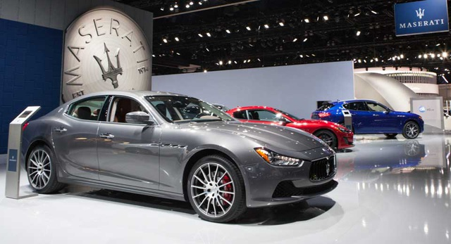 Maserati liên tiếp triệu hồi xe - 1