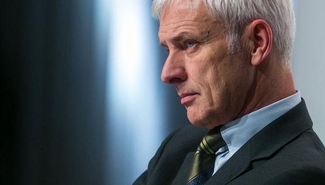 CEO Matthias Mueller của Volkswagen (Ảnh: Bloomberg)