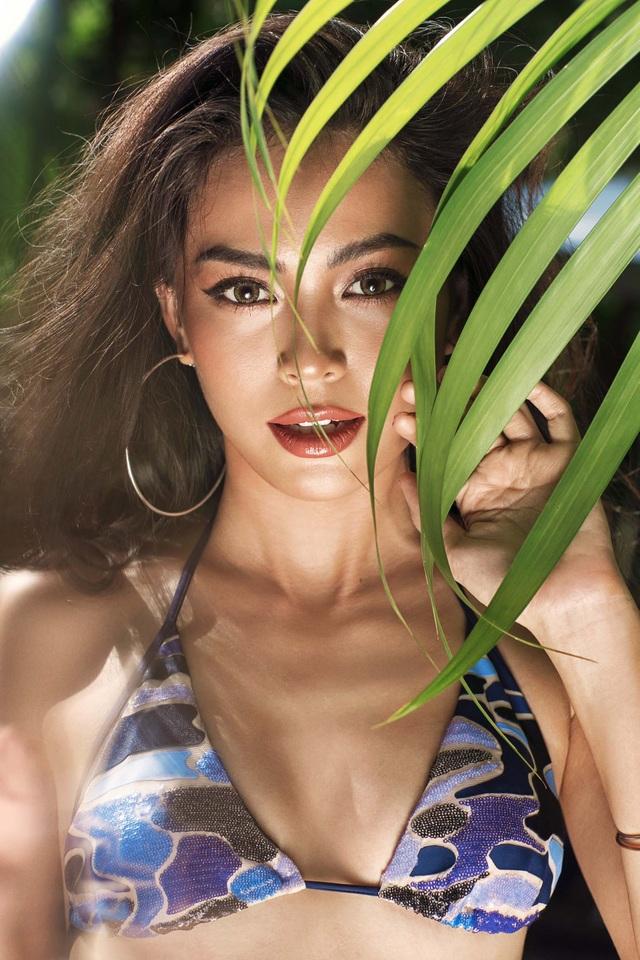 """Hết hiền dịu, Quán quân Next Top Mâu Thủy """"đốt mắt"""" với bikini - 3"""