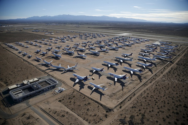 Tới nghĩa địa máy bay ở Mỹ - 9