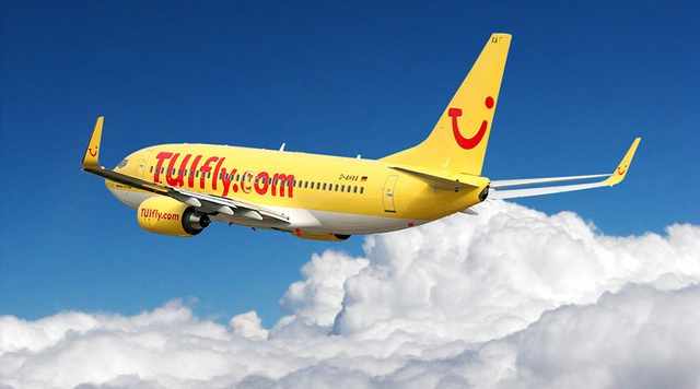 Một máy bay của hãng hàng không dân dụng TUI Fly. (Anhr: RT)