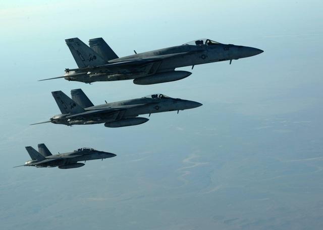 Máy bay F/A-18E của Mỹ. (Ảnh minh họa: US Air Force)