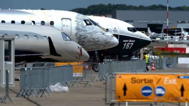 Các mẫu máy bay được trưng bày tại PAS 2017 (Ảnh: Getty)