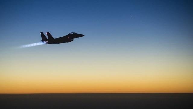 Một máy bay chiến đấu F-15 của Mỹ. (Ảnh minh họa: Sputnik)