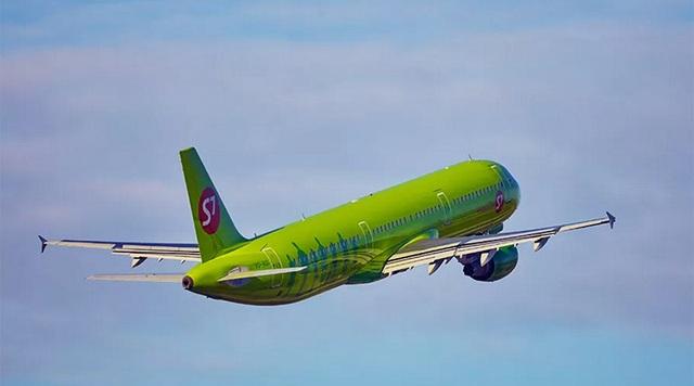 Một máy bay của hãng hàng không S7. (Ảnh: RT)