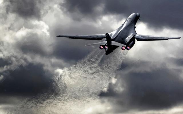 Một máy bay B-1B Lancer của Mỹ (Ảnh: The Aviationist)