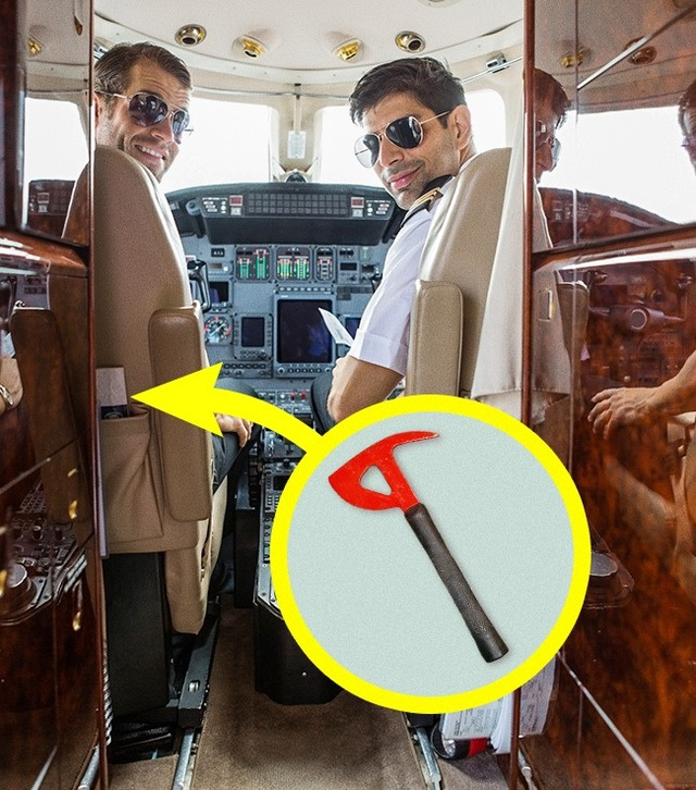 """Những thứ """"hay ho"""" trên máy bay ít hành khách ngờ tới - 2"""