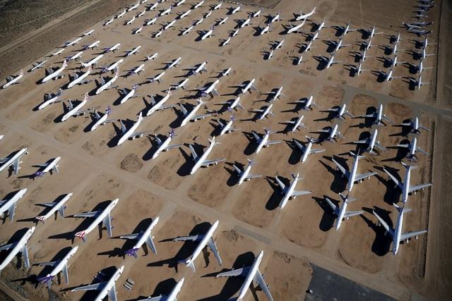 Đây là nơi tập kết của hàng trăm máy bay dân dụng chở khách hoặc máy bay chở hàng đã về hưu