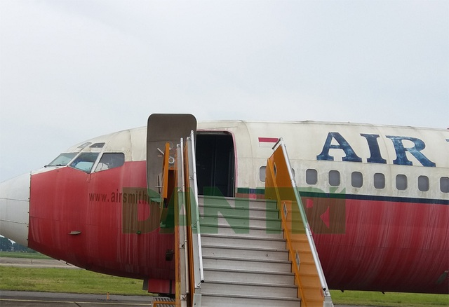 Sau thẩm định, máy bay sẽ được bán đấu giá