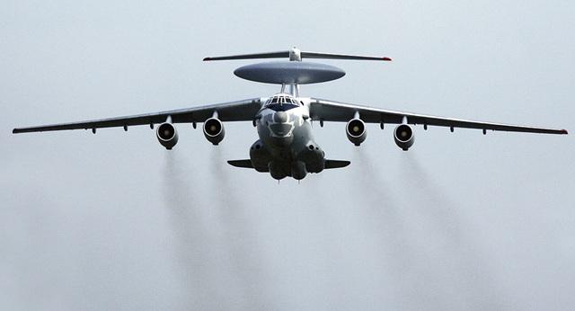 Một máy bay cảnh báo sớm trên không A-50 của Nga (Ảnh: Sputnik)