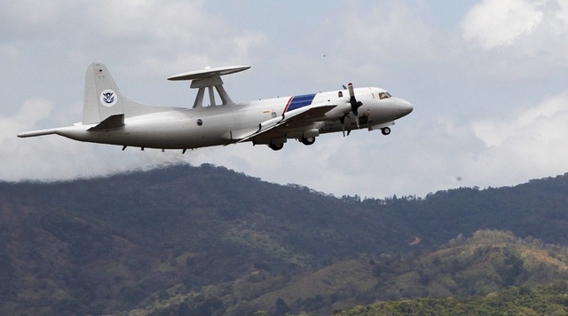 Máy bay P-3 Orion của Mỹ (Ảnh: RT)